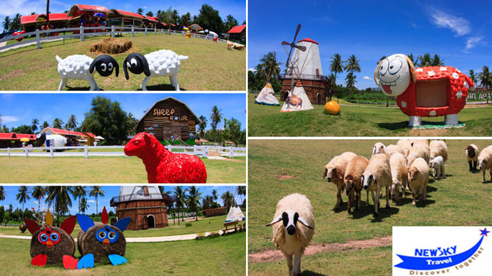 Nông Trại Cừu Pattaya (Sheep Farm)- là điểm tham quan mới khánh thành từ tháng 6 năm 2013 là nơi vui chơi yêu thích của khách du lịch trên thới giới, tại đây Quý khách có thể cho cừu ăn và chụp hình cùng cùng các con vật đáng yêu...